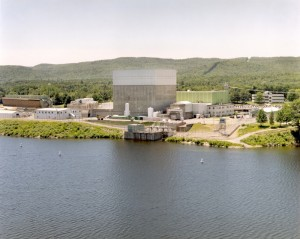 Vermont Yankee nuclear power station.